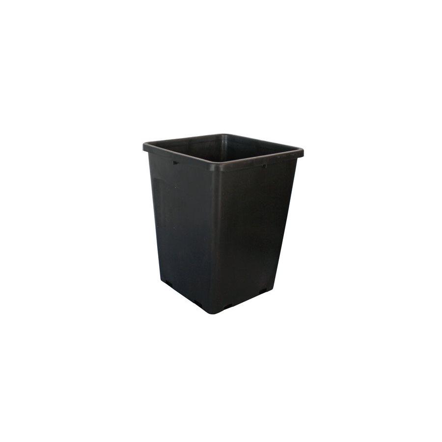 FHD 6.5L SQUARE BLACK POT 7.5''X7.5''X10'' (1)
