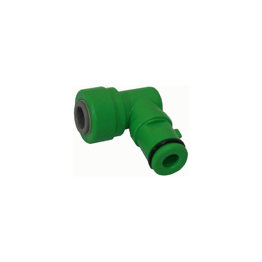 HYDROLOGIC MERLIN-GP ECO GREEN DRAIN ELBOW 3 / 8'' (1)