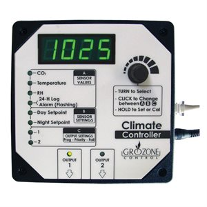 GROZONE HTC CLIMATE CONTROLLER RH, T° AND CO2 (1)