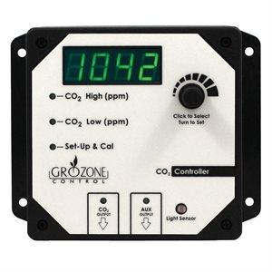 GROZONE CO2R CONTRÔLEUR DE CO2 À 2 SORTIES 0-5000 PPM (1)