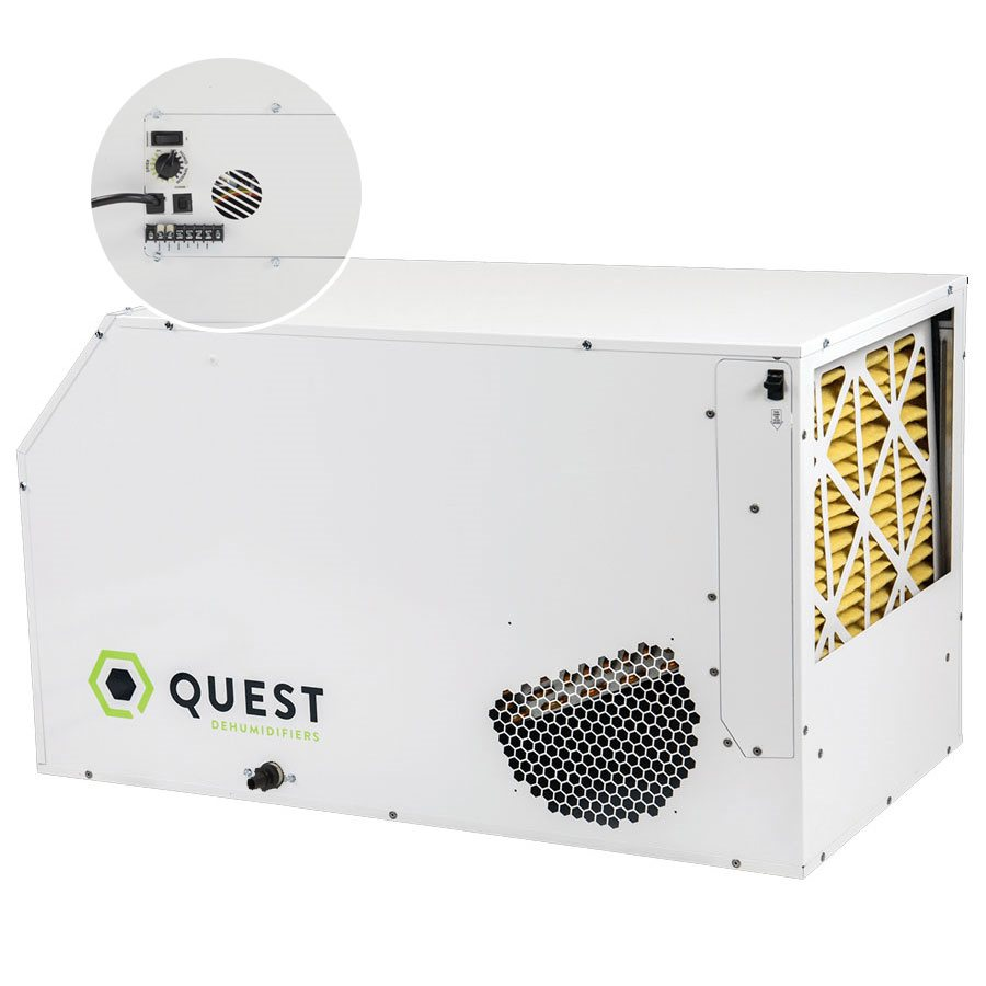 QUEST DUAL 165 DÉSHUMIDIFICATEUR 240V (1)