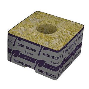 GRODAN GRO-BLOCK IMPROVED DELTA 4X4X2.5'' UNWRAPPED (216)