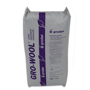 GRODAN GRO-WOOL GRANULÉ ABSORBANT 45 LB (1)