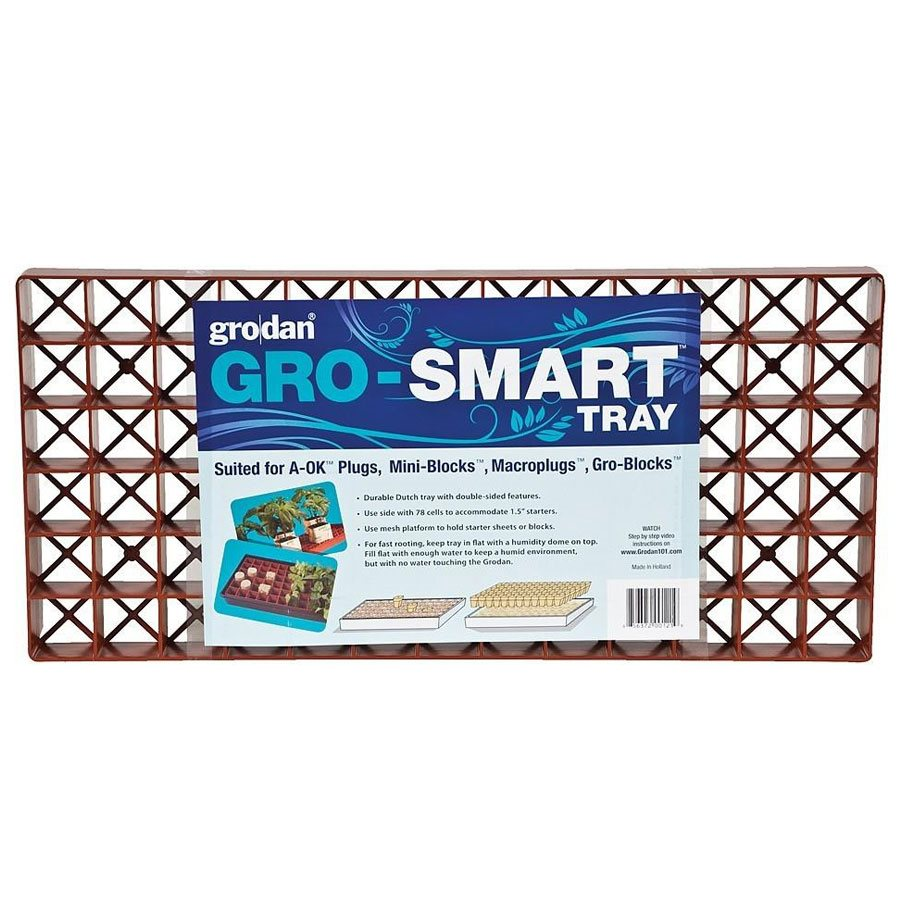 GRODAN GRO-SMART TRAY DOUBLE SIDED 78 CELLS (5)