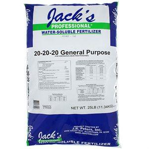 JACK'S ENGRAIS USAGE GÉNÉRAL 20-20-20 11.33KG (1)