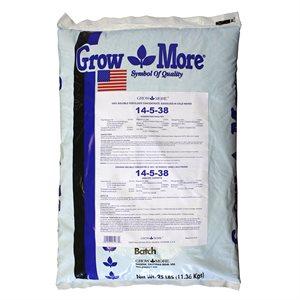 GROWMORE SOLUBLE FERTILIZER 14-5-38 11.36KG (1)