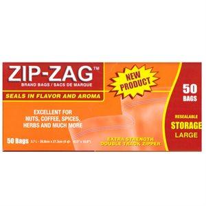 ZIP-ZAG ORIGINAL SACS LARGES 27.9 CM X 29.8 CM (50)