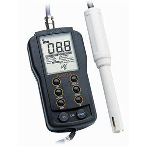 HANNA HI 9813-5 PH / EC / TDS / T° METER (PROBE HI 1285-5) (1)