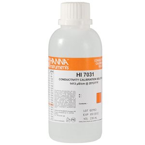 HANNA HI 7031L EC SOLUTION 1413 µS / CM 500 ML (1)
