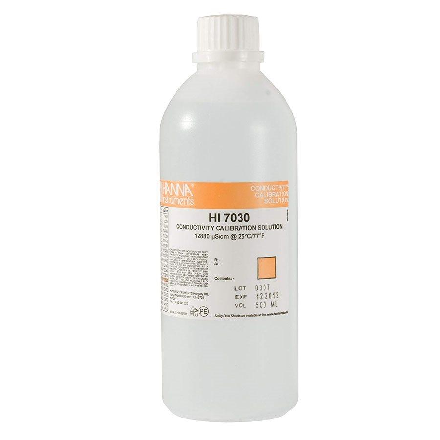HANNA HI 7030L EC SOLUTION 12880 µS / CM 500 ML (1)
