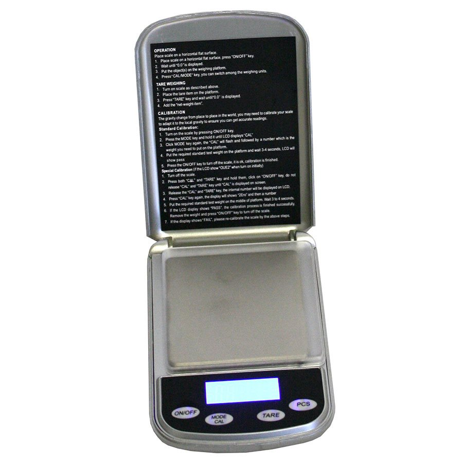 POCKET SCALE DIGITAL MAX:500 G / GRAD:0.01 G (1)