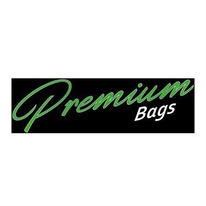 PREMIUM BAGS LARGE GLISSIÈRE DOUBLE 30cmx30cm (500)